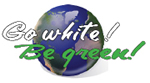 Go White! Be Green.